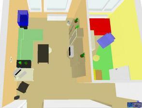 Obývačka a detská izbička