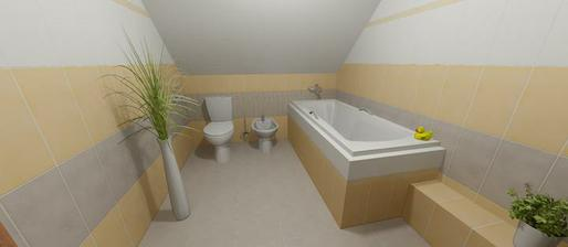 Naša budúca kúpelňa - obklady RAKO Tulip