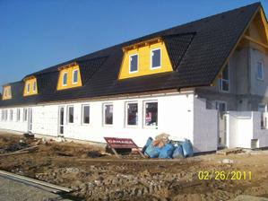 Koniec februára 2011 - v zime to išlo pomalšie, ale už to zase frčí - dokončenie do konca júna 2011