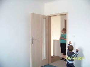 Nové dvere - Sapeli bělený dub