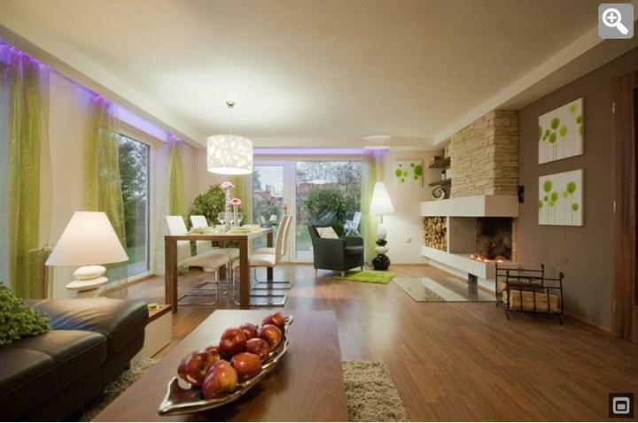 Obývací pokoj s kuchyní a jídelnou - Obrázek č. 31