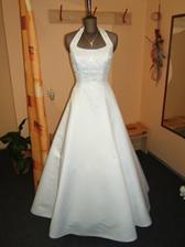 Mé svatební šaty, nikde jsem nemohla najít jejich obrázek, ale nakonec se podařilo.