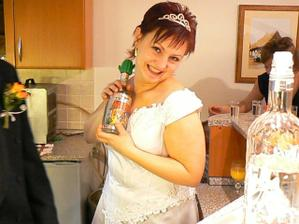 Bez pochyby má ráda tequilu, na naší svatbě taky bude...