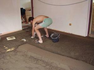 Pořád děláme beton v obýváku