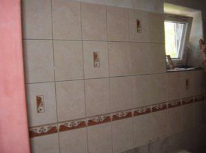 Hurááá konečně se obkládá koupelna