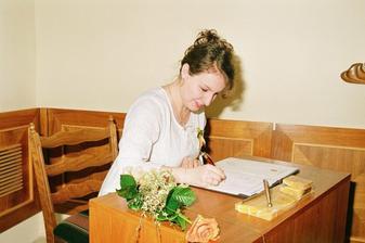Svedkyně nevěsty.