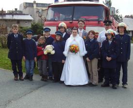 Moje dětičky z hasičáku :-)