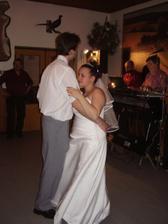 První tanec pro novomanželé.