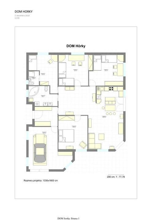 Dom hôrky - spolu s mangelom sme zvazili vsetky nase potreby domove a po viacerych kompromisoch sme zakotvili pri tomto nasom projektiku:)
