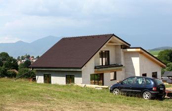 Nízkoenergetický domček postavený svojpomocne modulovým systémom