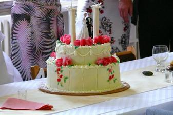 náš svatební dortík