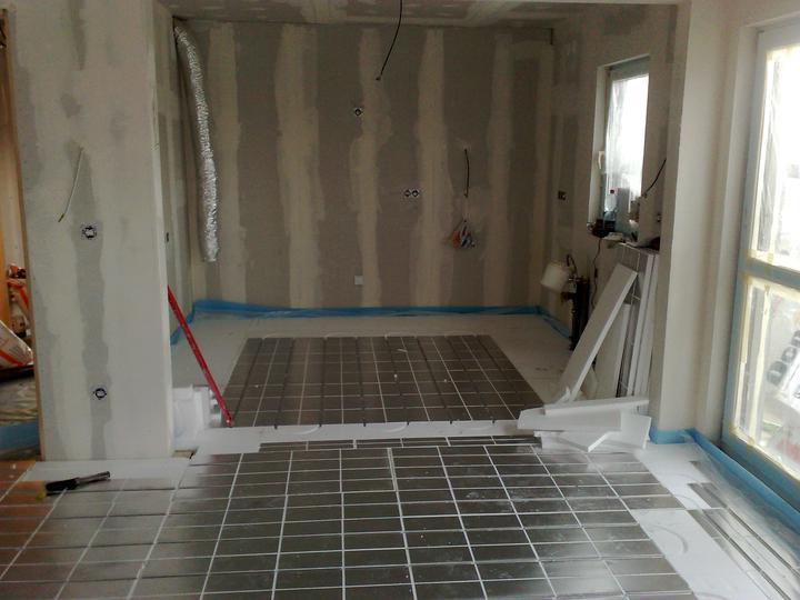 Podlahovka-kuchyň