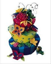 Další z psychedelických dortů