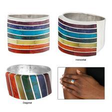 Cuzco Sterling Rainbow Ring - stojí třicet dolarů a když ho koupíte, přispějete na zvířata v (amerických) útulcích