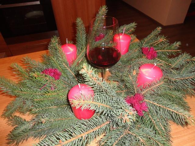 Vianoce u nás... +moje výtvory :) - dobre sa robilo pri vinecku :)