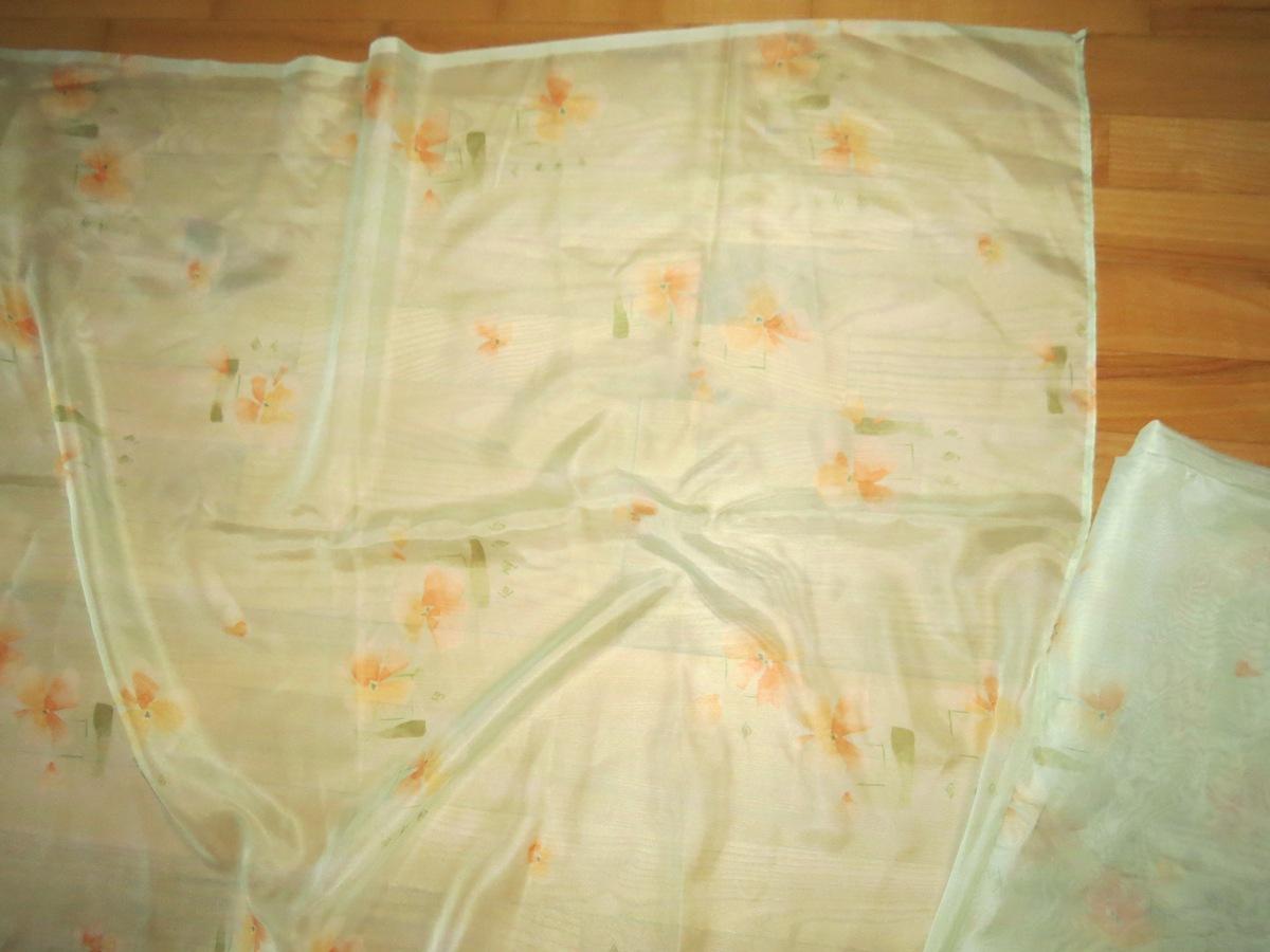 Zelené závesy + záclona - Obrázok č. 2