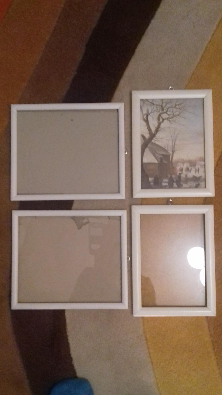 Biele drevene ramiky - Obrázok č. 1