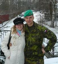 před misí s mým vojáčkem