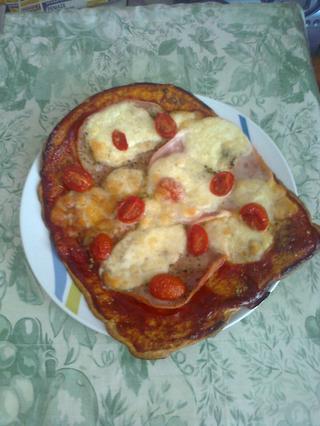 moja prvá otrubová pizza,... - Obrázok č. 1