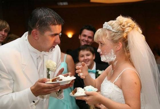 Some wedding pics to make you smile :) - Shave time?