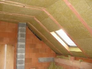 Víkendové zateplování střechy