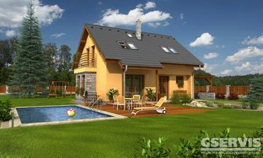 Tak takhle by měl náš budoucí domeček vypadat. Nero od G servisu.:-)
