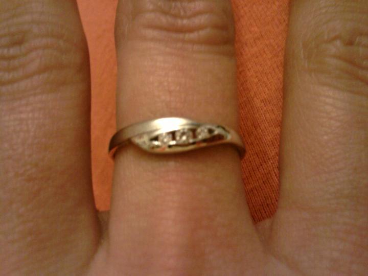 Prípravy na svadbu - snubný prstienok :)