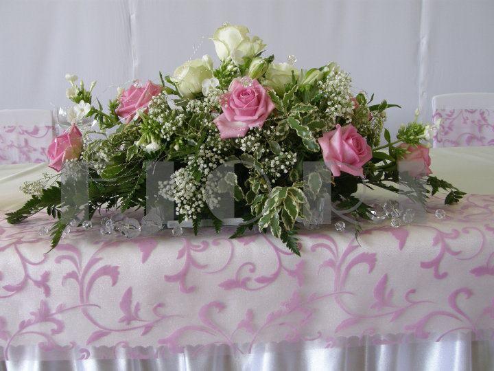 Prípravy na svadbu - ešte tam budú biele gerbery :)