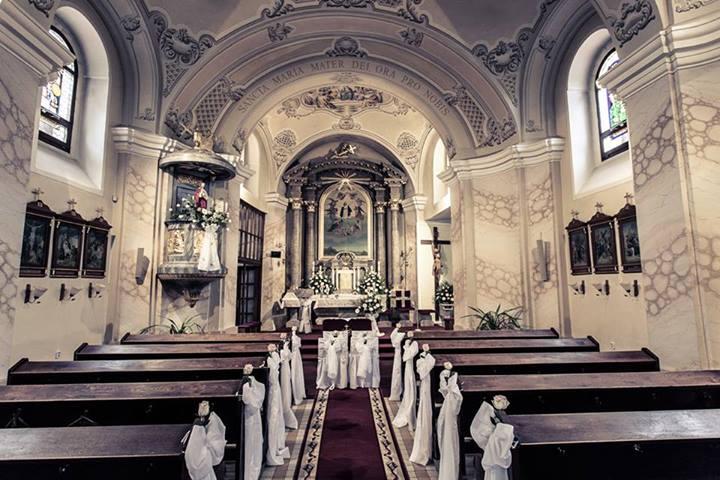 Prípravy na svadbu - náš kostol :)