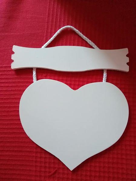 Srdiečko s tabuľkou - Obrázok č. 1