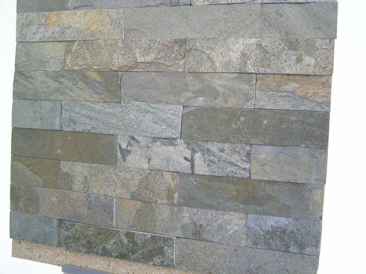 obklady a dlažby z prírodného kameňa (nie betonové a sadrové imitacie) - Zeera Green (indický kvarcit)7x30x1 cm