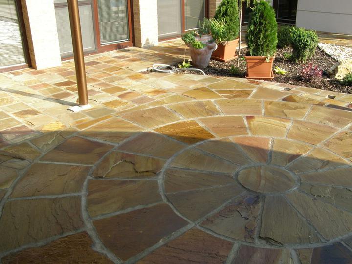 obklady a dlažby z prírodného kameňa (nie betonové a sadrové imitacie) - Obrázok č. 82