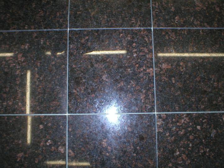 obklady a dlažby z prírodného kameňa (nie betonové a sadrové imitacie) - leštená žula Tan brown 305x305x10 mm