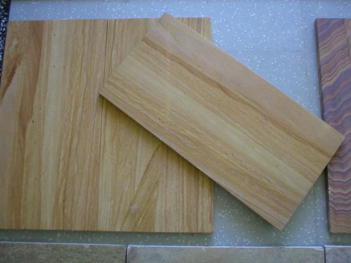 obklady a dlažby z prírodného kameňa (nie betonové a sadrové imitacie) - indický pieskovec Teak wood