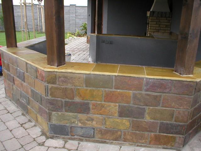 obklady a dlažby z prírodného kameňa (nie betonové a sadrové imitacie) - Obrázok č. 88