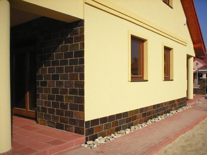 obklady a dlažby z prírodného kameňa (nie betonové a sadrové imitacie) - obklad Rusty 24,48.-eur/m2 (30x15x1 cm)