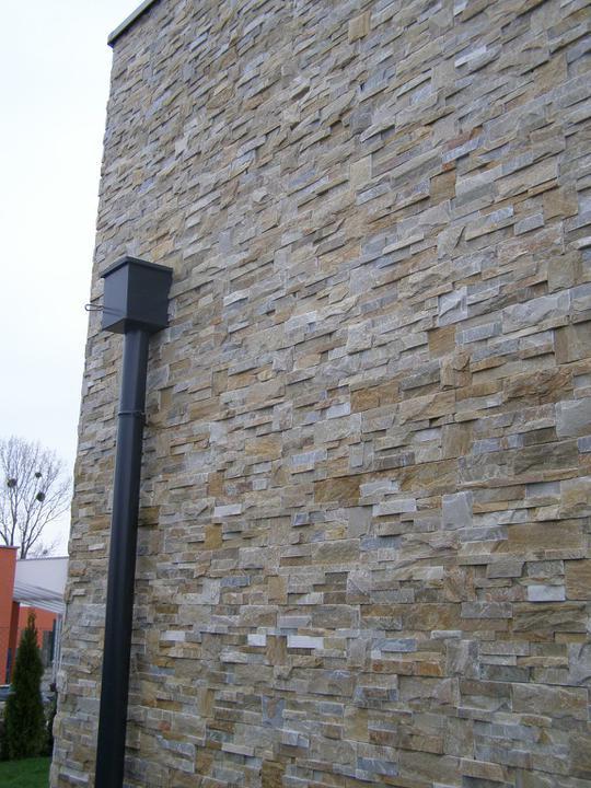 obklady a dlažby z prírodného kameňa (nie betonové a sadrové imitacie) - golden kvarcit 35x18x1-2 cm
