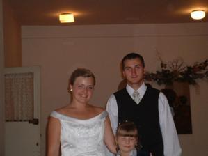 Mladomanželia Kvietkovci :)