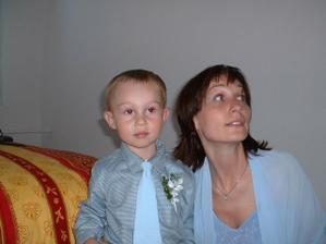 Mareček s maminkou