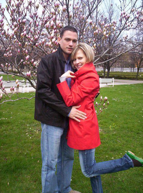 Ivanka a Filip - tiež pokus o umelecké foto:-))aj ked nevydarený...ale snaha sa cení:-))