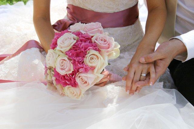 Ivanka a Filip - takáto bola moja svadobná kytička