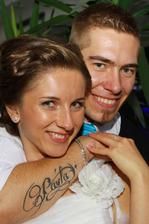Zlatíkovo tetovanie!!! :) Dal si to spraviť pred rokom na svoje narodeninky... Podotýkam - nevedela som o tom.. :D