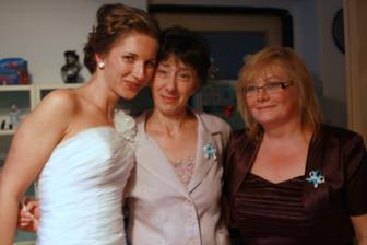 s mojou uplakanou maminkou a našou Jankou