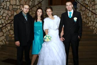 Taaak a to sme my - sestrička s priateľom a ja už s manželom