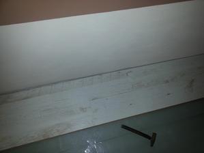 skladáme podlahu v spálni