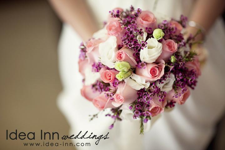 Svatební kytky - Do takové jsem se v sobotu zamilovala :)