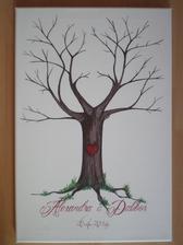 Náš svadobný strom je hotový....