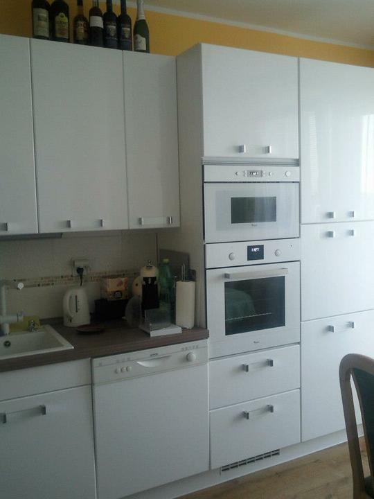 Moja vysnívaná kuchyňa - na celom rozložení by som nemenila nič, máme to dobre vyriešené :-)