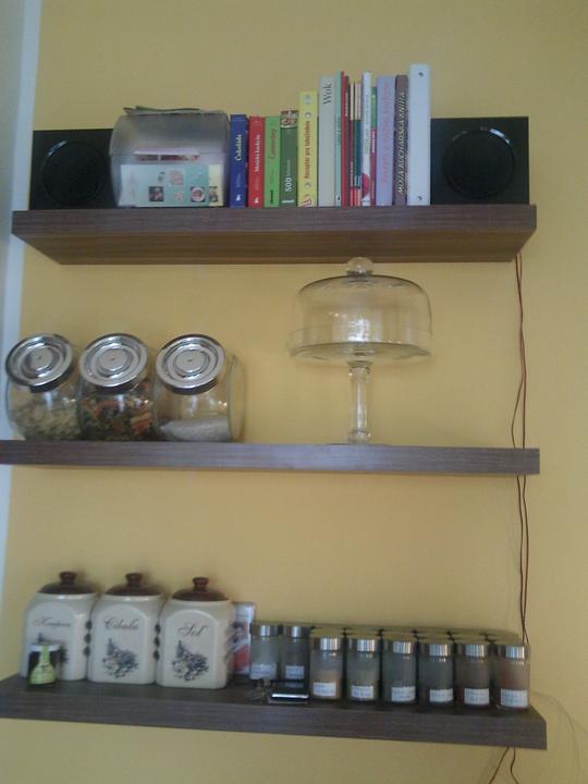 Moja vysnívaná kuchyňa - dočasné miesto