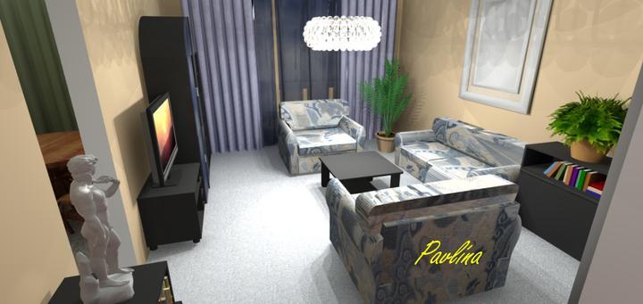 Vizualizácie - rôzne - naša obývačka